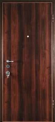 дверь входная металлическая с ламинированием