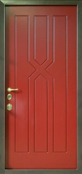 входные двери из металла обшитые мдф