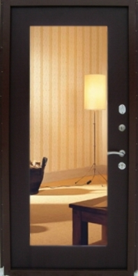 зеркало с обратной стороны входной двери