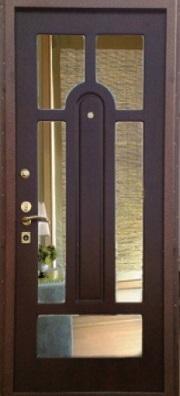 металлические двери с зеркалом в москве