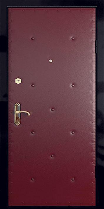 металлические двери под заказ цена с отделкой кожей