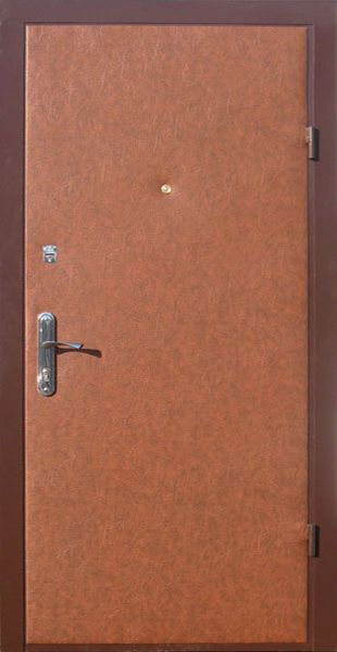 двери металлические входные обшитые винилискожей