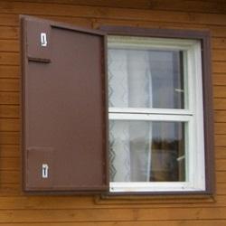 заказать железные ставни на окна